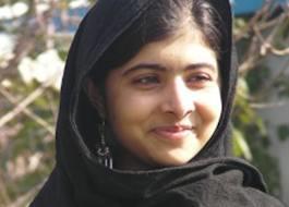 Malala Leaves Her Mark