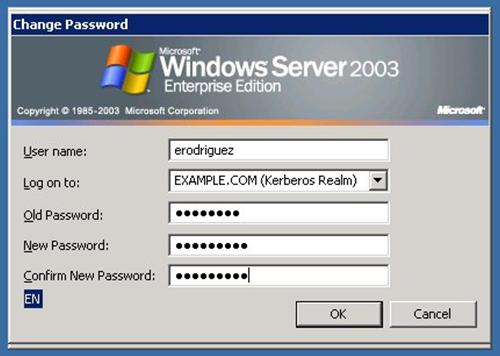 how to change the internet password with easlink