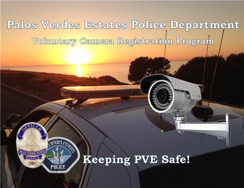 Palos Verdes Estates Voluntary Camera Registration Program