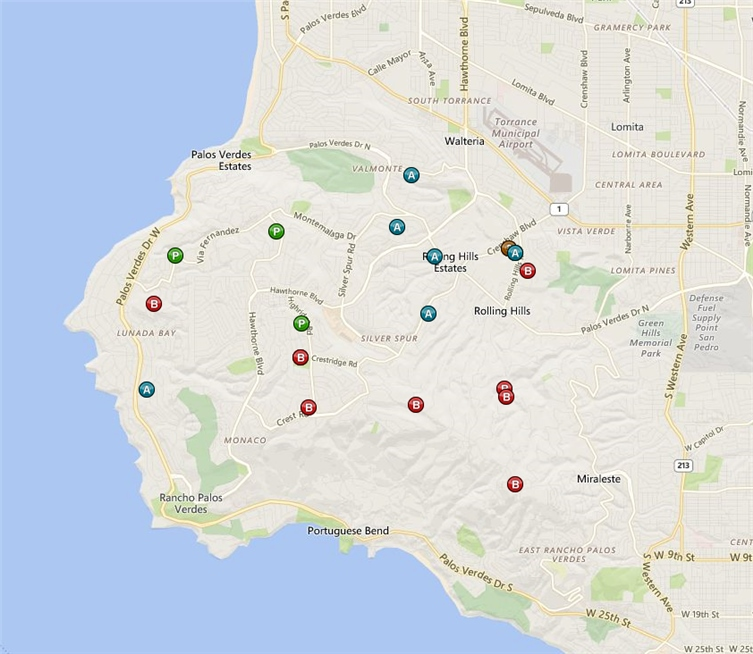 palos verdes foreclosure report