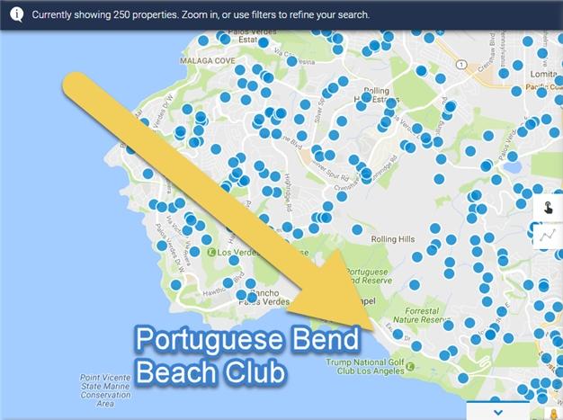 portuguese bend beach club homes