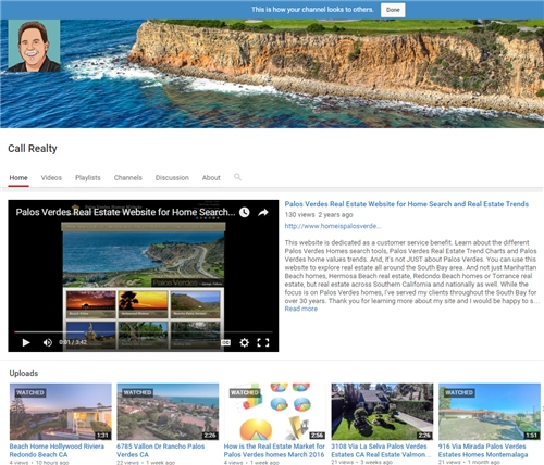 how to find videos about palos verdes real estate