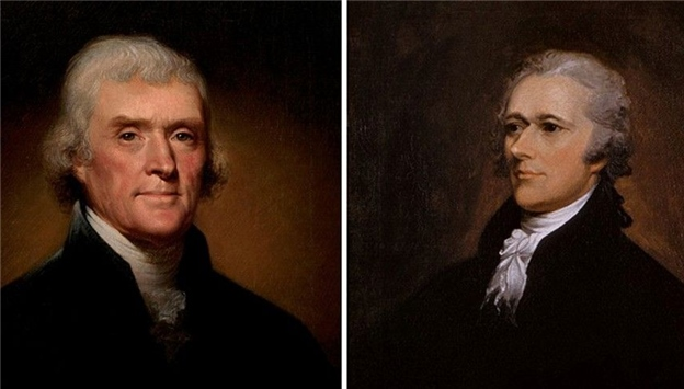 jefferson vs hamilton