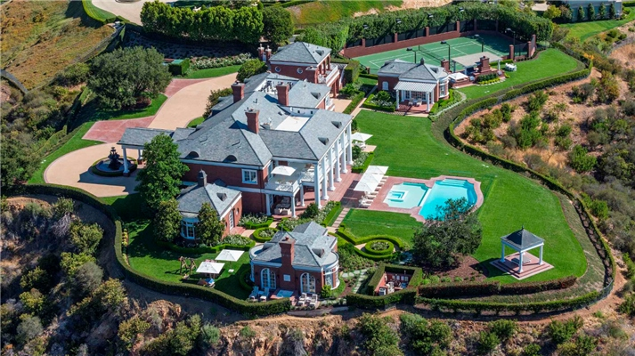 What zip codes have the most expensive homes in California